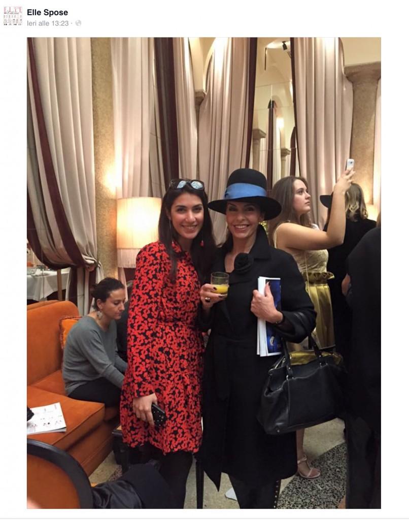 With Fabienne Rea