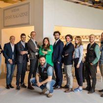 La wedding blogger Alessandra Campagnola a Sì Sposaitalia con il team Sposi Magazine