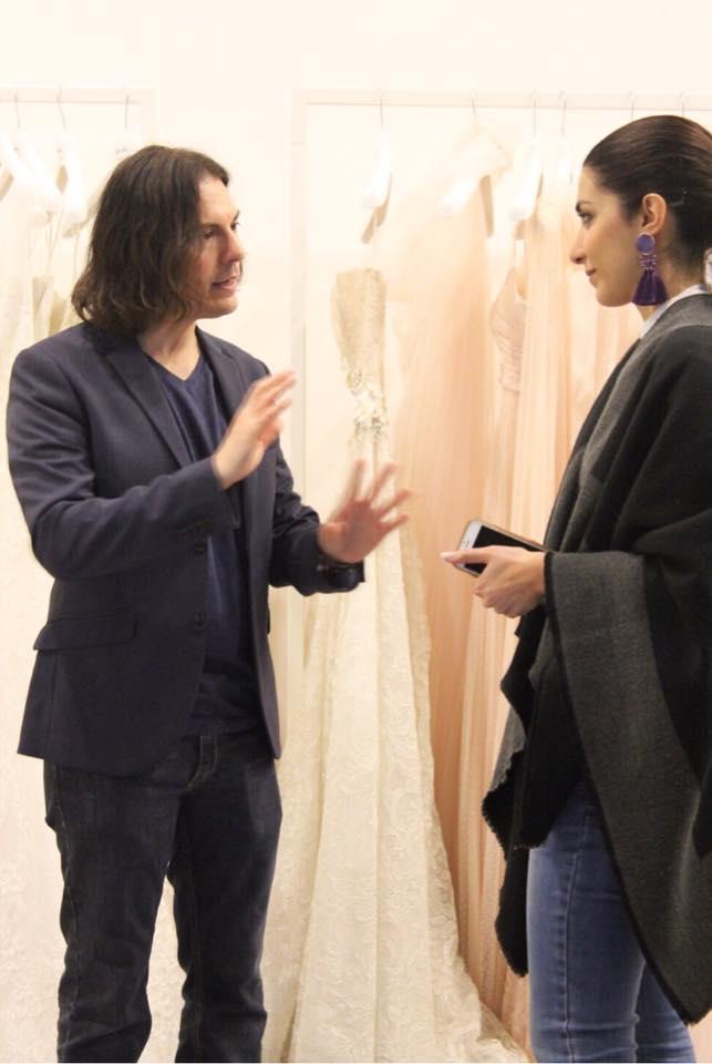 L'intervista di Alessandra Campagnola ad Iris Noble per Sì Sposaitalia