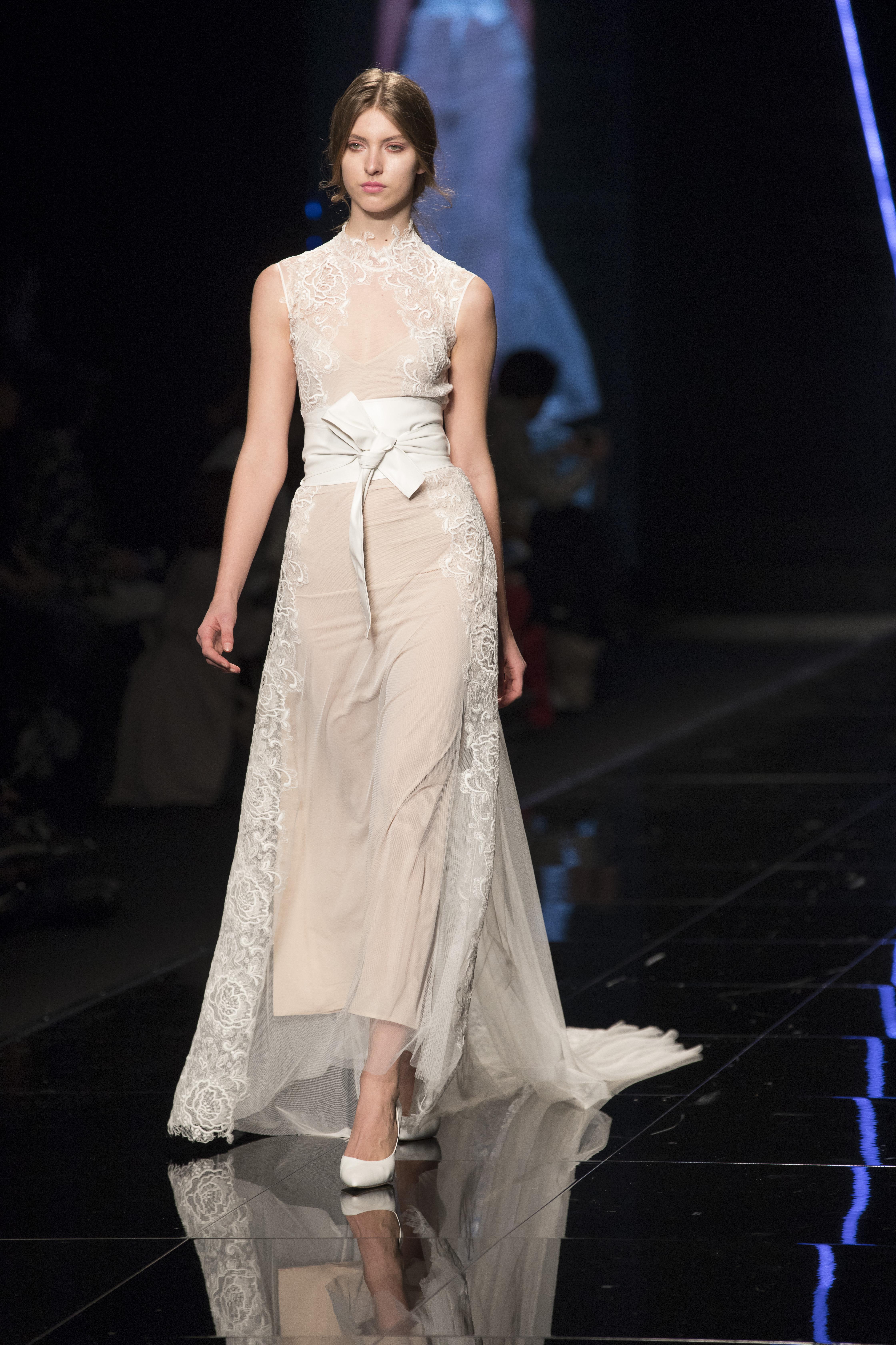 Elisabetta Polignano presentazione abiti da sposa 2019