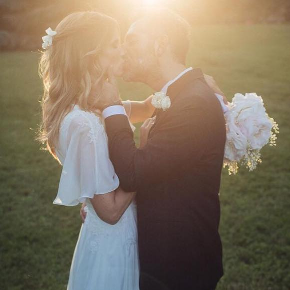 Matrimonio Daniele Bossari e Flippa Lagerback